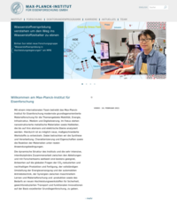 Max Planck Institute for Iron Research GmbH