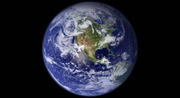 This view of Earth comes from NASA's Moderate Resolution Imaging Spectrora