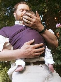 Study looked at new dads' baby talk.