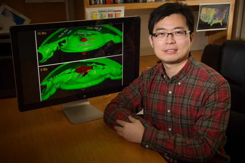 Geology  Lijun Liu used computer simulations to study the origins of the Yellow