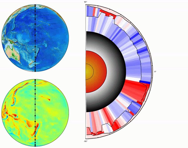 Density variations in the crust and upper mantle