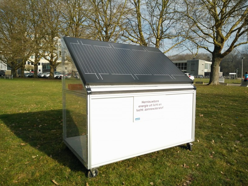 Bioscience engineers from KU Leuven have designed a solar panel that converts 15