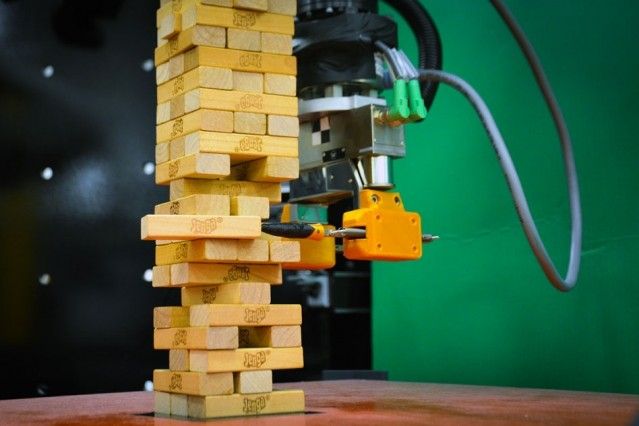 The Jenga-playing robot demonstrates something that's been tricky to attai