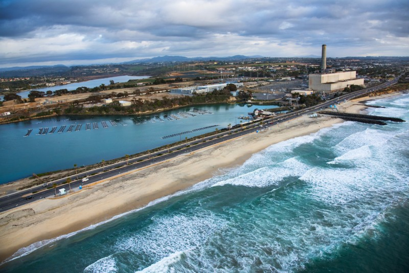 "The Claude 'Bud"" Lewis Carlsbad Desalination Plant near U.S. Route 1"