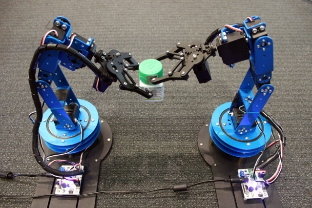 MIT Media Lab researchers are using RFID tags to help robots home in on moving o