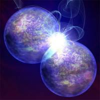 An artist's impression of Stem Cell Welding. The cell membrane-bound enzym