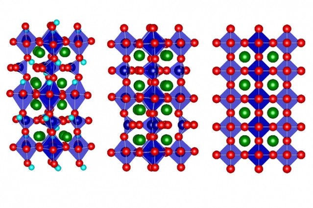 Researchers found that selenium cobalt oxide (SCO) naturally occurs in an atomic