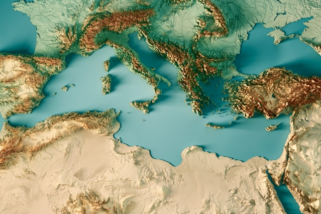 Global climate models agree that the Mediterranean area will be significantly dr