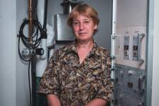 'I'm hoping that MIT becomes a center for electron microscopy,' Frances Ross say