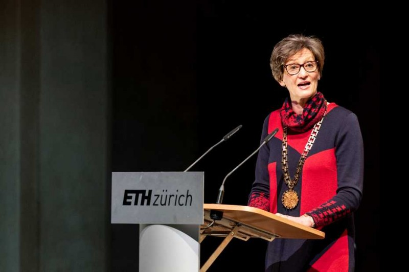 In her speech, ETH Rector Sarah Springman emphasised: