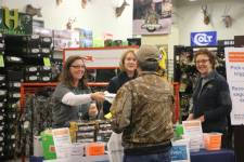 A participant at a recent firearm-safety event attended by Seattle Mayor Jenny D