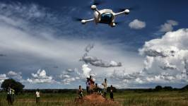 The integration of drones with other technology interventions in health systems