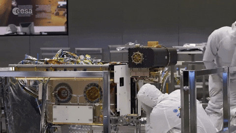 ExoMars rover drill unit rotation