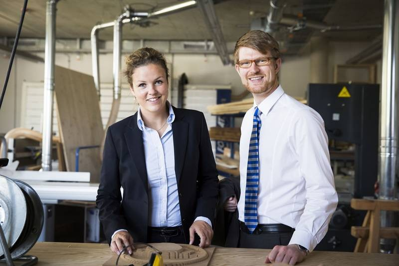 Katharina Keitz and Florian Wehner are developing small, stable and individually