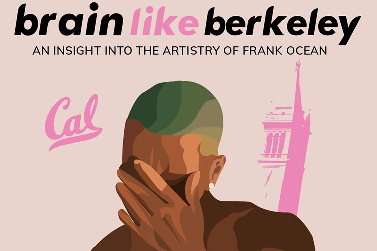 The cover image of a DeCal course on Frank Ocean taught at UC Berkeley. (Courtes
