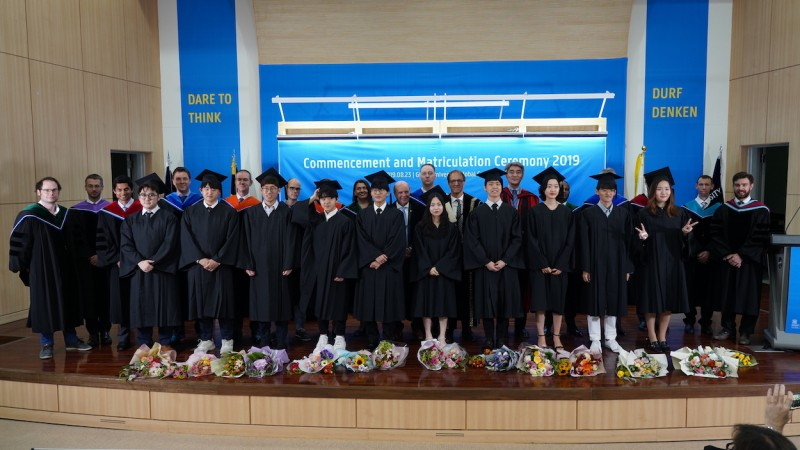 Commencement and Matriculation Ceremony