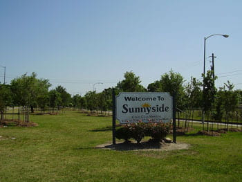 Sunnyside, established in 1912, is the oldest historically African American comm
