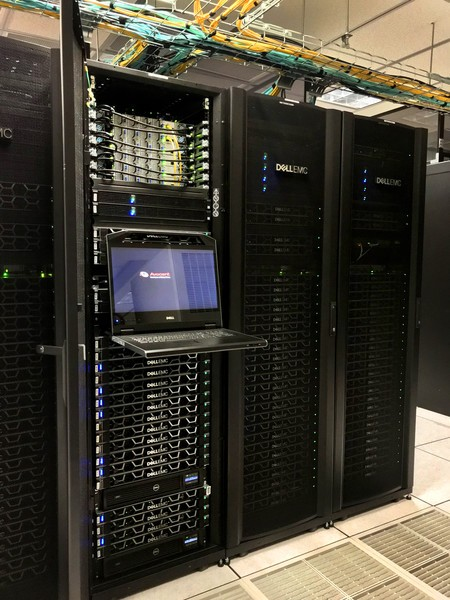 The new HPC Center boasts nearly 7,500 CPU cores and 200 NVidia P100 graphics-pr