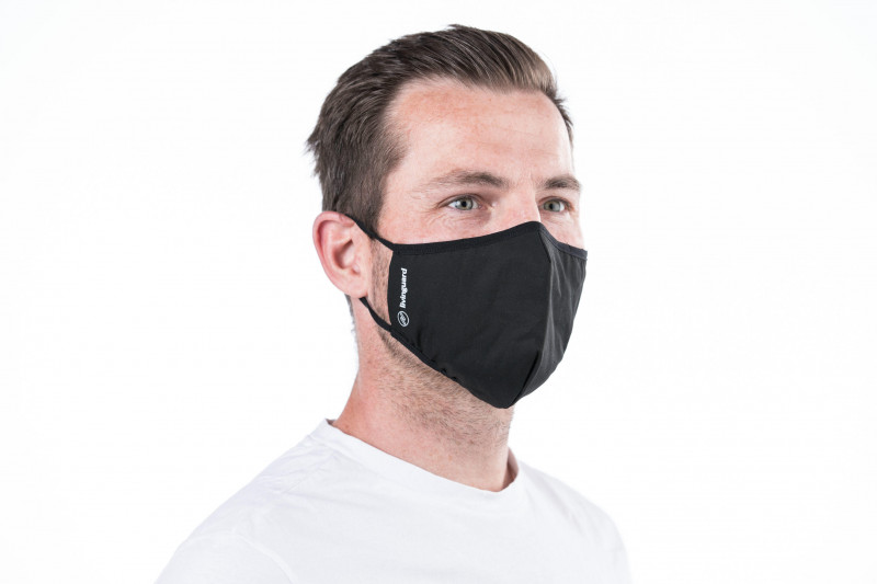 Man with face mask  Image Credit: © Livinguard