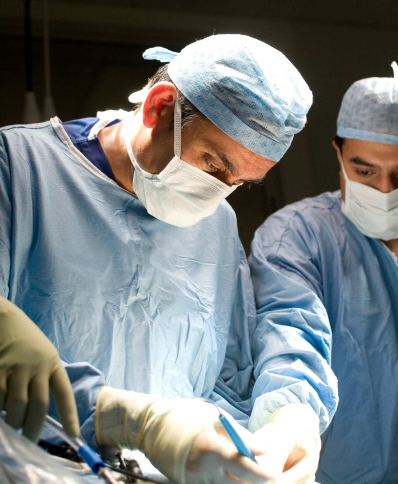 Lord Darzi in surgery