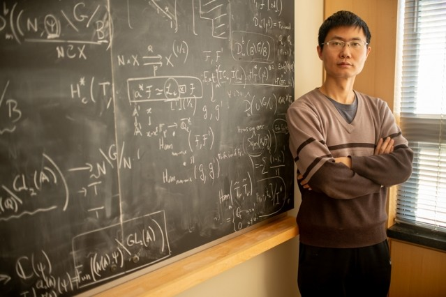 Zhiwei Yun has struck up fruitful collaborations with others in the math departm