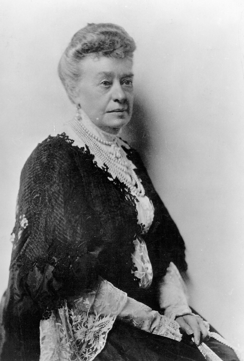 Jane Lathrop Stanford  (Image credit: Stanford University Archives)