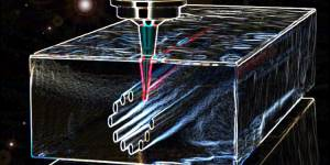 Femtosecond laser lithography in polycrystalline diamond © Haissam Hanafi