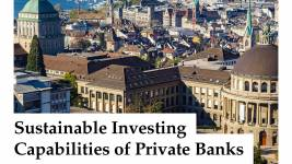 The report is published by the Center for Sustainable Finance and Private Wealth
