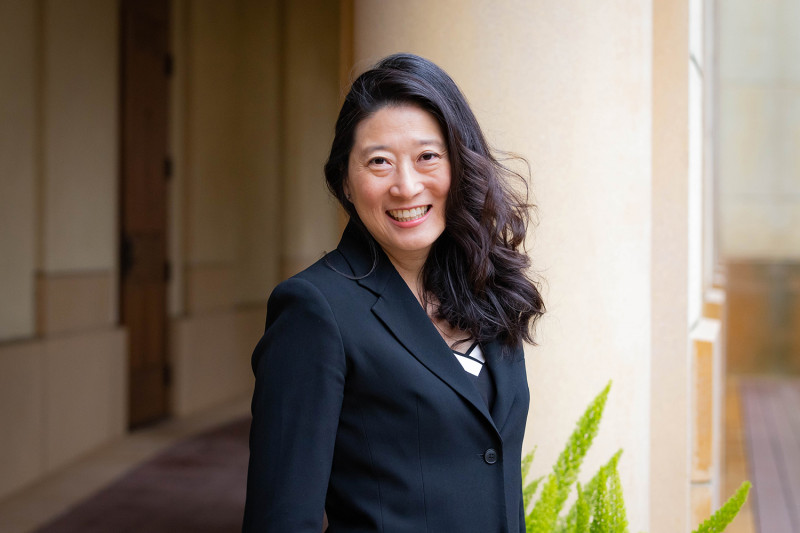 Tina Hua is Stanford's chief ethics and compliance officer.  (Image credit
