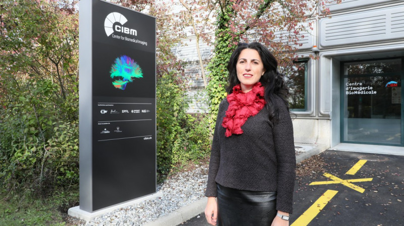 Pina Marziliano, the executive director of the Center for Biomedical Imaging © 2