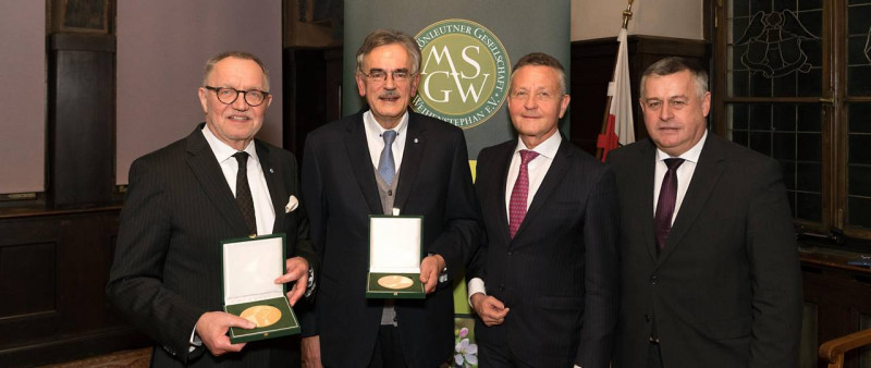 The medal of the Max Schönleutner Gesellschaft Weihenstephan was awarded this ye