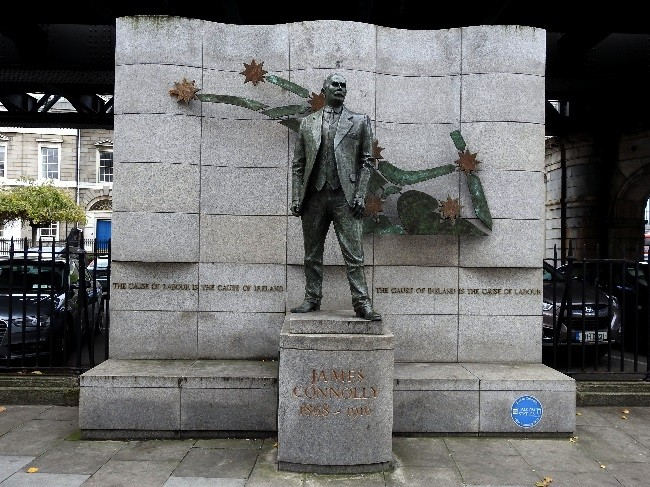 James Connolly Statue in Dublin