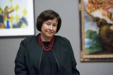 Elizabeth Kathleen Mitchell, the Burton and Deedee McMurtry Curator and Director