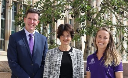 Executive Principal of Marsden State High School Andrew Peach, Head of the UQ Sc