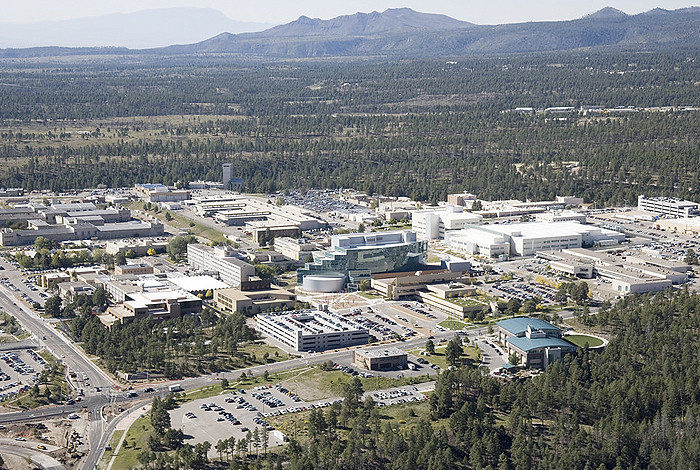Los Alamos National Laboratory, shown above, is coordinating with the University