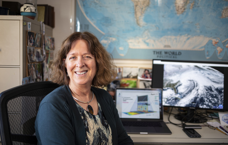 Atmospheric scientist Lynn McMurdie is leading the NASA IMPACTS field campaign,