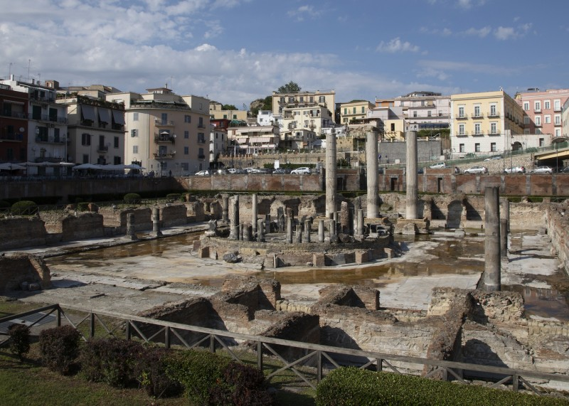 The ancient Italian city of Pozzuoli was shaped by volcanic activity.  (Image cr