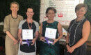 Winner and runner-up of inaugural UQ Ally Award announced