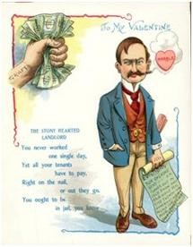 A comic Valentine in the Harding Collection (Bodleian Libraries)