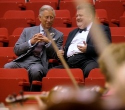 HRH Prince Charles and   Dibble